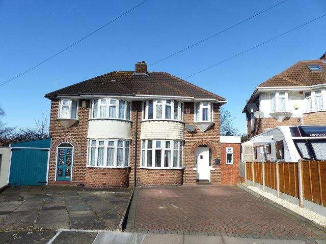 3 Bedrooms Semi Detached House for sale in Padstow Road,Erdington,Birmingham