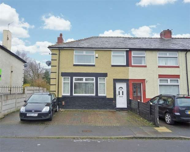 3 Bedrooms Terraced House for sale in Brookside Crescent, Middleton, Manchester, Lancashire