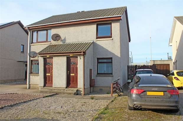 2 Bedrooms Maisonette Flat for sale in Mallard Drive, Peterhead, Aberdeenshire