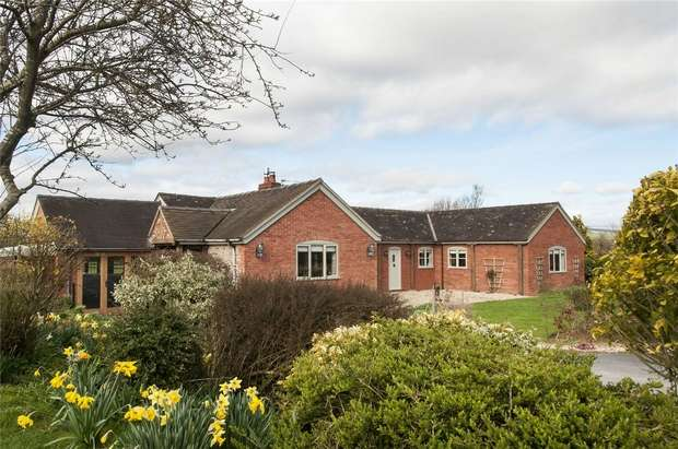 3 Bedrooms Detached Bungalow for sale in The Coach House, Great Sutton, Stanton Lacy, Ludlow, Shropshire