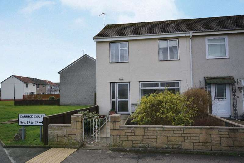 3 Bedrooms End Of Terrace House for sale in Carrick Court, Braehead, Stirling, FK7 7QX