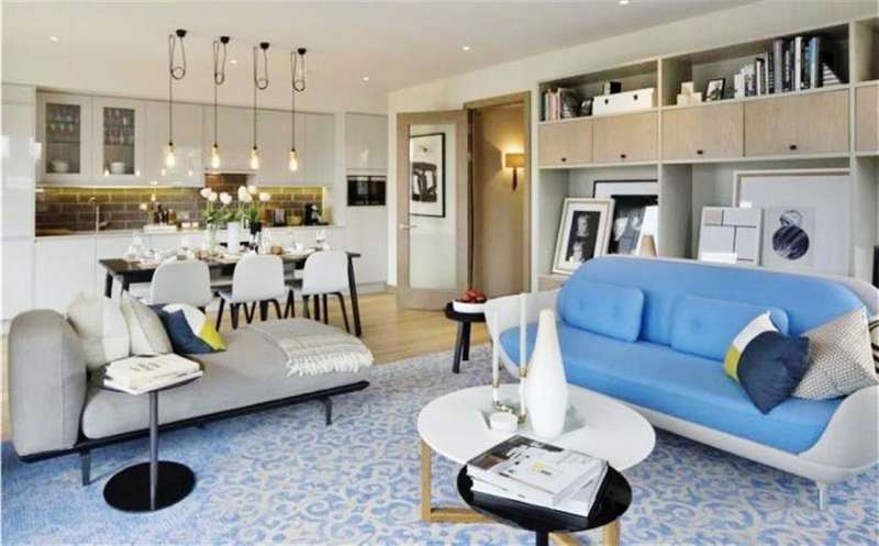 2 Bedrooms Property for sale in Shoreham Gardens West, The Ram Quarter, London