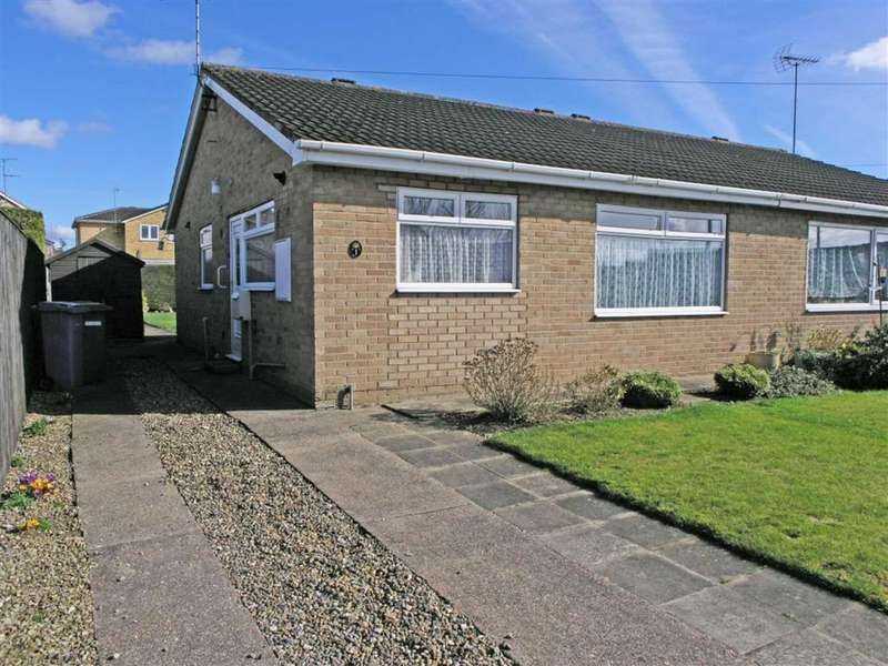 2 Bedrooms Semi Detached Bungalow for sale in St Stephens Close, Driffield, East Yorkshire
