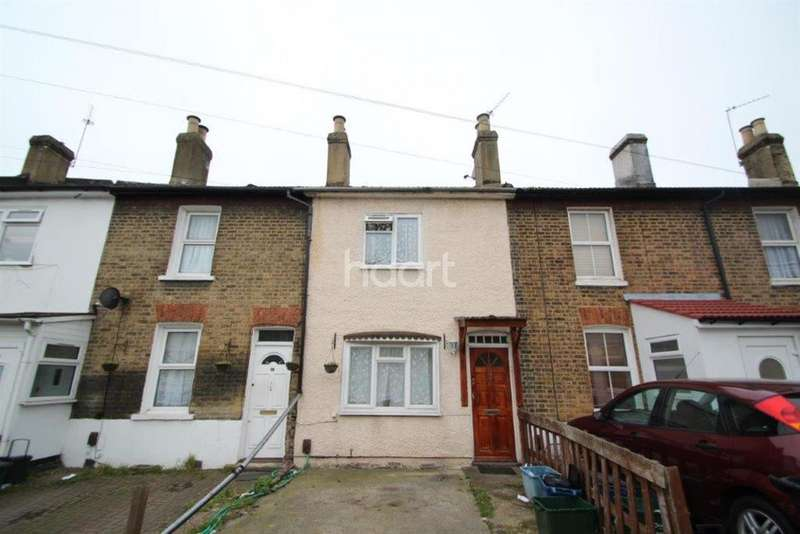 2 Bedrooms Terraced House for sale in Longley Road, Croydon, CR0