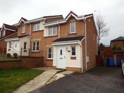 3 Bedrooms Semi Detached House for sale in Greendale Drive, Radcliffe, Manchester, Greater Manchester