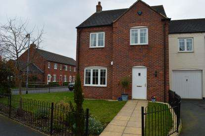 4 Bedrooms House for sale in Rogerson Road, Fradley, Lichfield