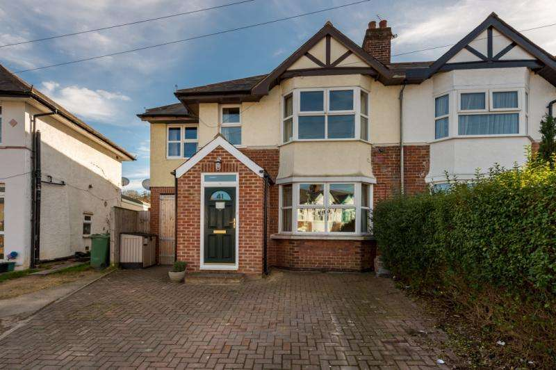 4 Bedrooms Semi Detached House for sale in Campbell Road, Oxford