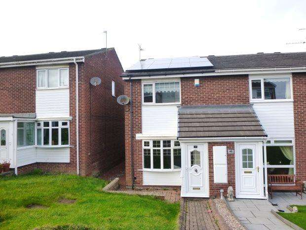 2 Bedrooms Semi Detached House for sale in WITHENSEA GROVE, RYHOPE, SUNDERLAND SOUTH