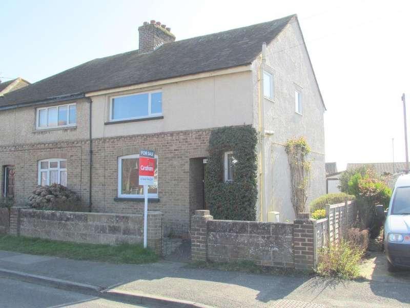 3 Bedrooms Semi Detached House for sale in Rose Green Road, Rose Green, Bognor Regis, West Sussex, PO21 3ED
