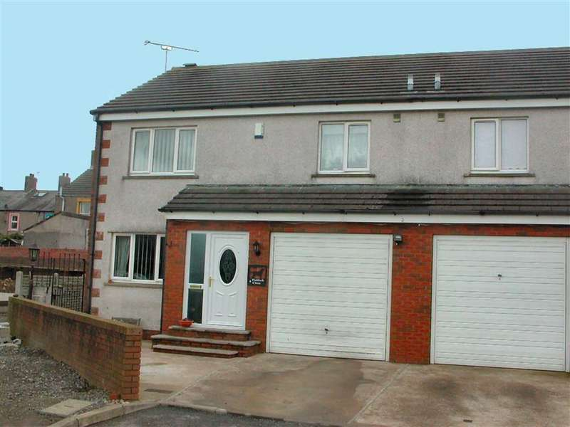 3 Bedrooms Semi Detached House for sale in Paddock Close, Aspatria