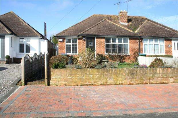 2 Bedrooms Semi Detached Bungalow for sale in Tennyson Avenue, Rustington, West Sussex, BN16
