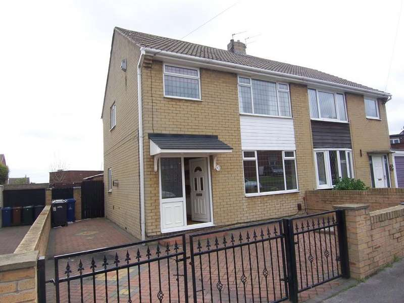 3 Bedrooms Semi Detached House for sale in Cornwall Close, Barnsley S71