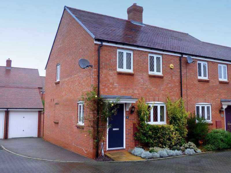 3 Bedrooms End Of Terrace House for sale in Nicholls Close, Ampthill, Bedfordshire, MK45 2GB