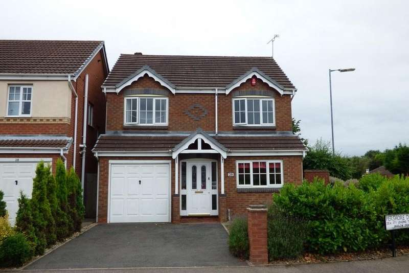 4 Bedrooms Detached House for sale in Pershore Drive, Branston