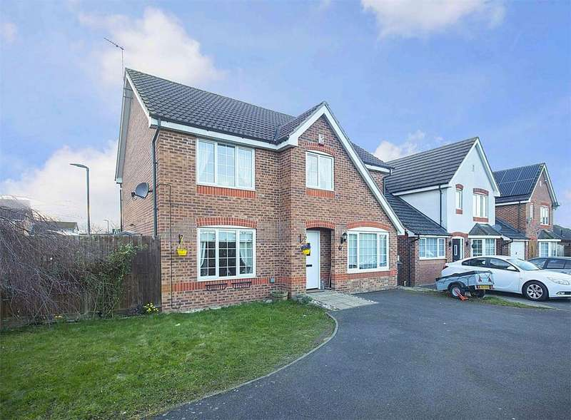 4 Bedrooms Detached House for sale in Grizedale Close, Corby, Northamptonshire