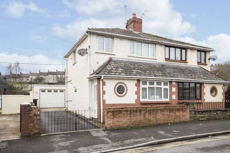 2 Bedrooms Semi Detached House for sale in Ailesbury Street, Newport