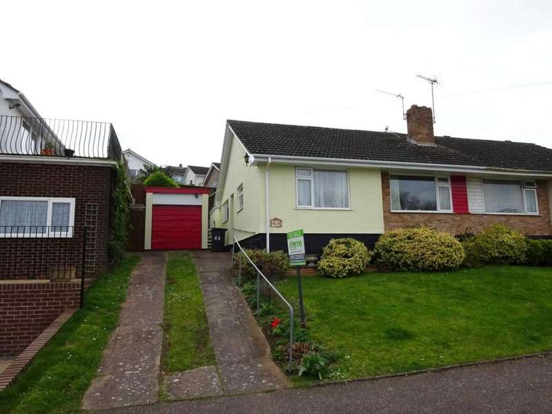 3 Bedrooms Bungalow for sale in Chichester Close, Exmouth