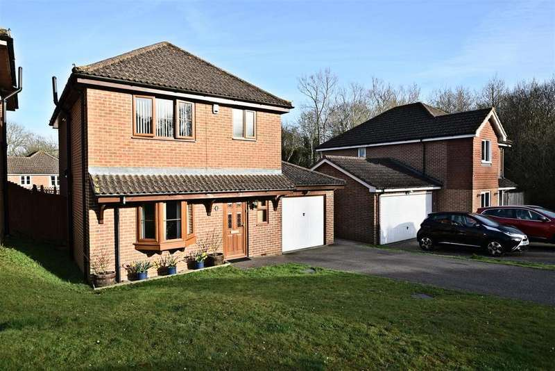 4 Bedrooms Detached House for sale in Knights Meadow, Battle