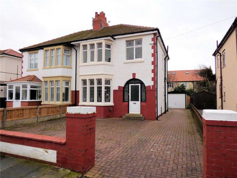 3 Bedrooms Semi Detached House for sale in Leicester Avenue, Thornton-Cleveleys, Lancashire