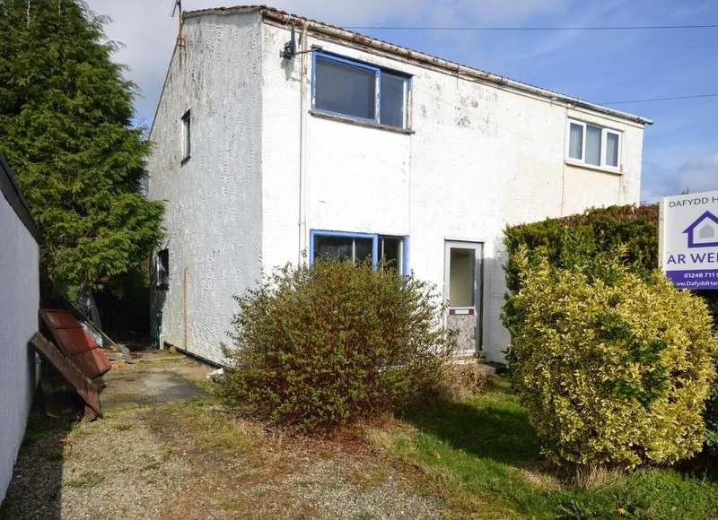 2 Bedrooms Semi Detached House for sale in Lon Y Waen, Menai Bridge, North Wales