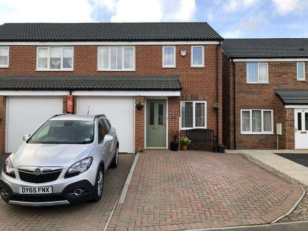 3 Bedrooms Semi Detached House for sale in GRANGE WAY, BOWBURN, DURHAM CITY : VILLAGES EAST OF