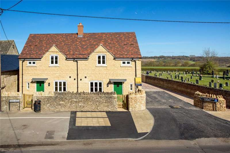 3 Bedrooms Semi Detached House for sale in Bluebell Cottage, Myrtle Farm, Main Road, Long Hanborough, Oxfordshire, OX29
