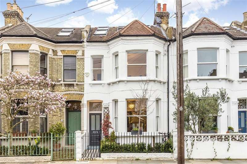 5 Bedrooms Terraced House for sale in Roxwell Road, Shepherd's Bush, London, W12
