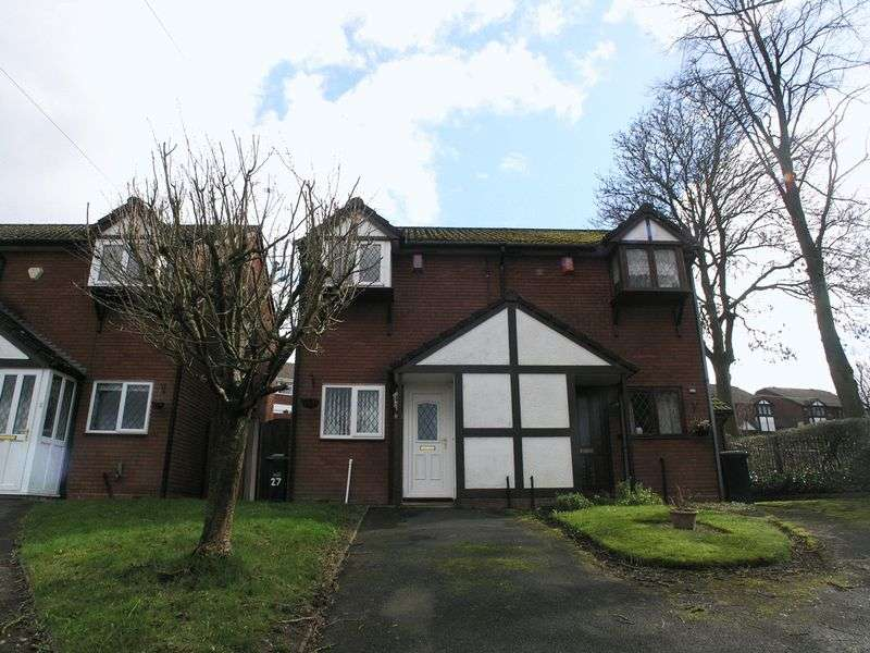2 Bedrooms Semi Detached House for sale in BRIERLEY HILL, Tyzack Close