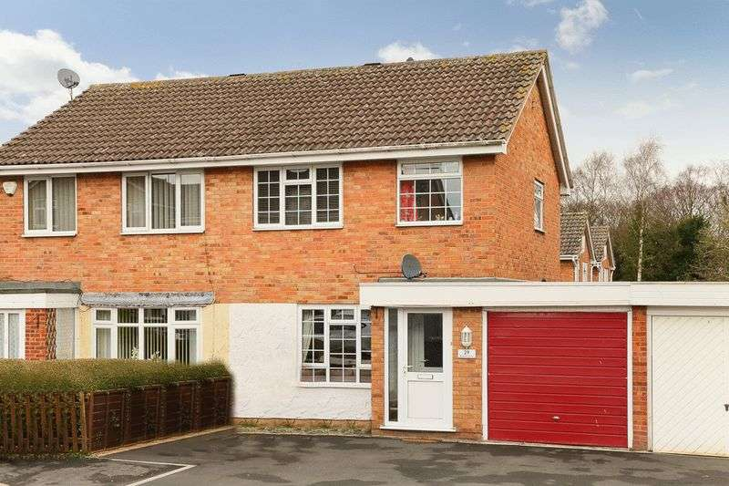 3 Bedrooms Semi Detached House for sale in Redfield Close, Broseley