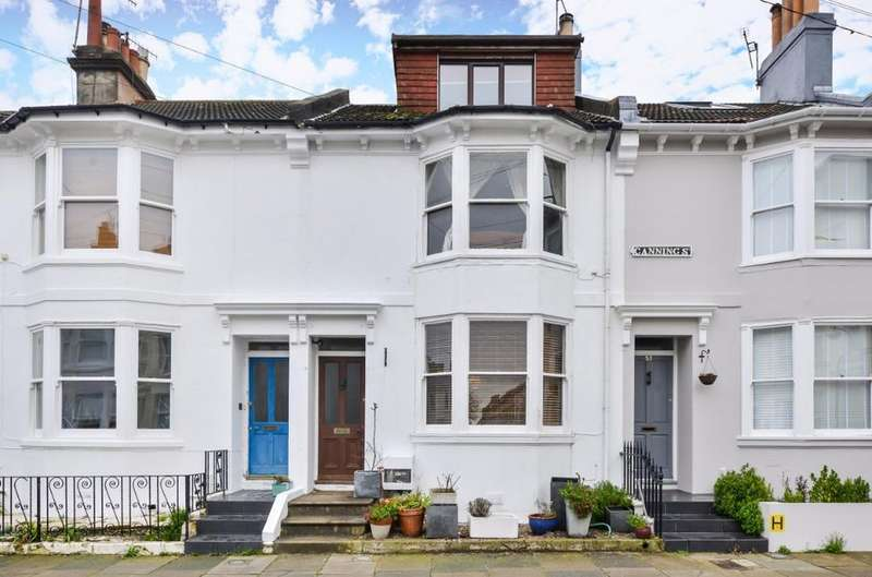 3 Bedrooms Terraced House for sale in Canning Street Brighton East Sussex BN2