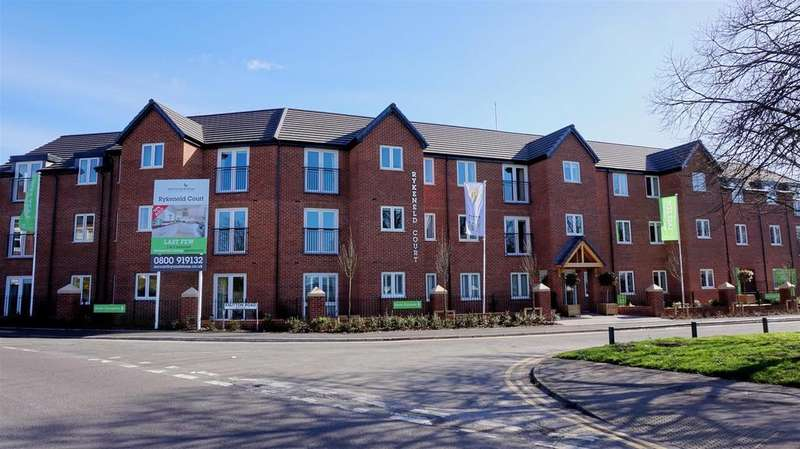 1 Bedroom Apartment Flat for sale in Rykeneld Court, Knutton Road, Wolstanton, Newcastle