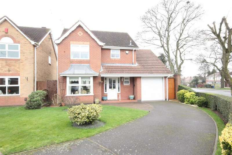 3 Bedrooms Detached House for sale in Spoonley Wood Court, Littleover, Derby