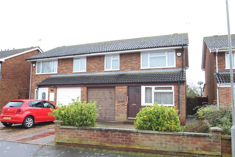 3 Bedrooms Semi Detached House for sale in Richmond Way, Newport Pagnell