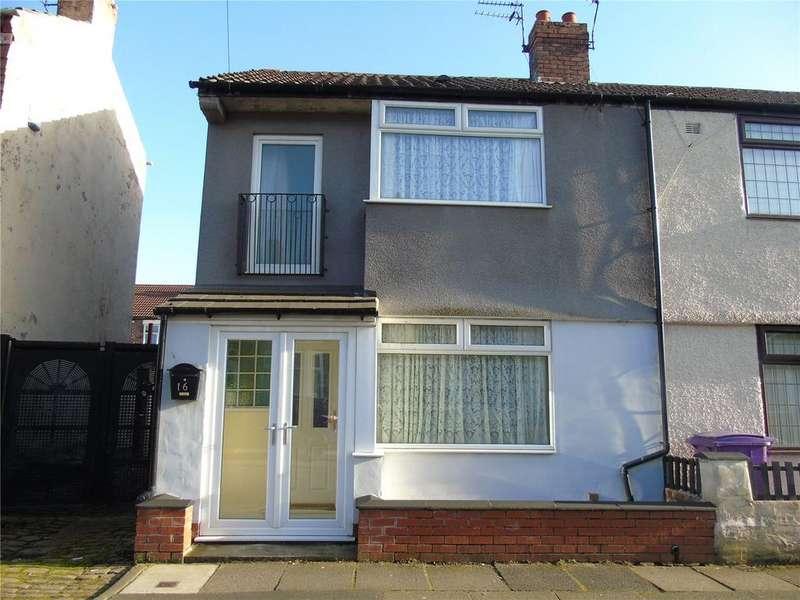 2 Bedrooms End Of Terrace House for sale in Cedardale Road, Walton, L9