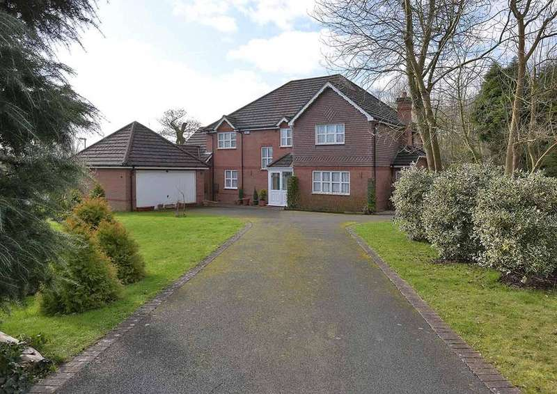5 Bedrooms Detached House for sale in Merebrook Close, Malvern, Worcestershire, WR14