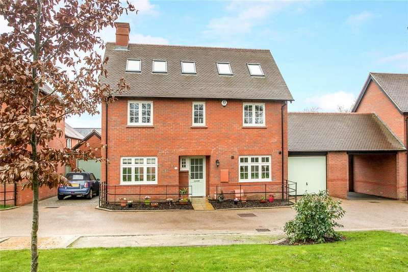 5 Bedrooms Link Detached House for sale in Monks Walk, Winchester, Hampshire, SO23