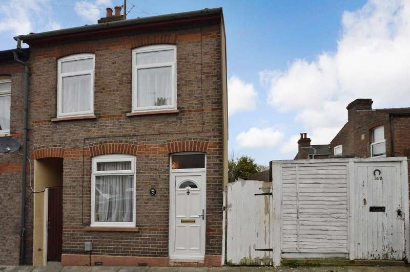 3 Bedrooms End Of Terrace House for sale in Cowper Street, South Luton, Luton, LU1 3SQ