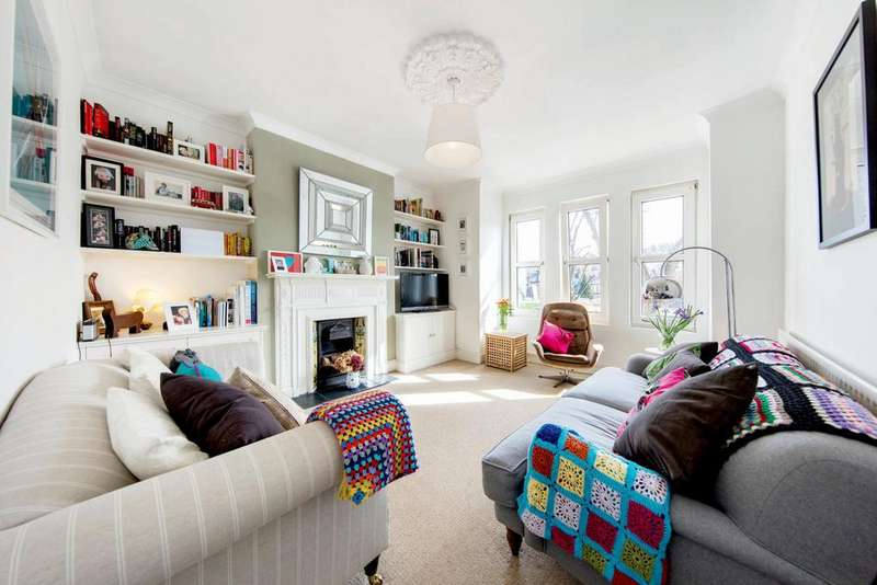 3 Bedrooms Flat for sale in Harborough Road, SW16