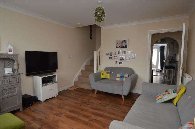 2 Bedrooms Terraced House for sale in Bishops Close, Saltash, Cornwall