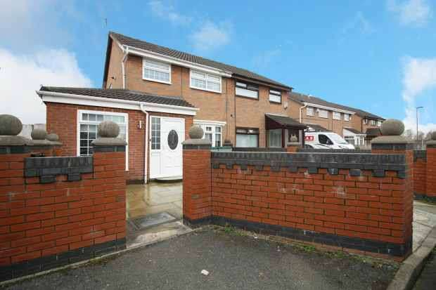 3 Bedrooms Semi Detached House for sale in Camdale Close, Liverpool, Merseyside, L28 3QD