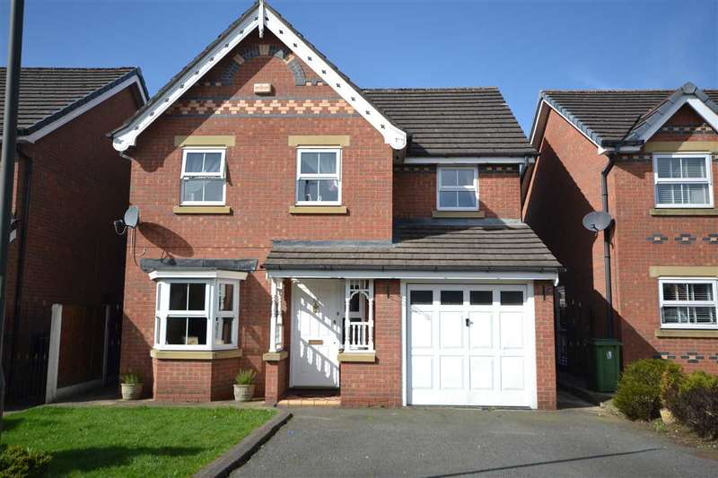 4 Bedrooms Detached House for sale in Dunsdale Drive, Wigan
