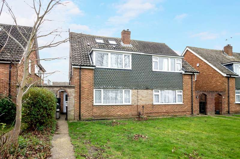 5 Bedrooms Semi Detached House for sale in Osborne Close, Feltham, TW13