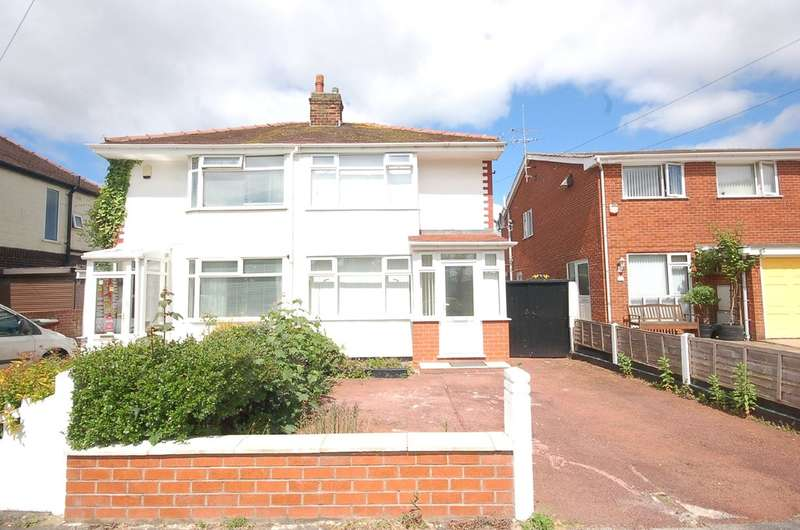 2 Bedrooms Semi Detached House for sale in Sunningdale Avenue, Blackpool