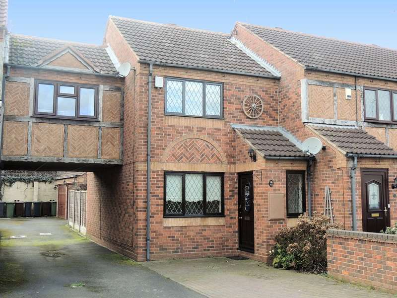 2 Bedrooms Terraced House for sale in Old Station Road, Hampton-In-Arden