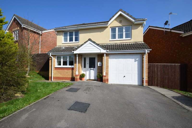4 Bedrooms Detached House for sale in 44 Bryn Henfaes, Broadlands, Bridgend, Bridgend County Borough, CF31 5EW.
