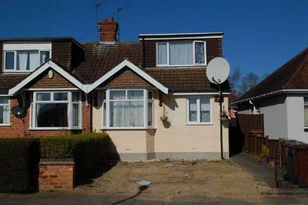 3 Bedrooms Semi Detached House for sale in Lovat Drive, Duston, Northampton NN5 5NT