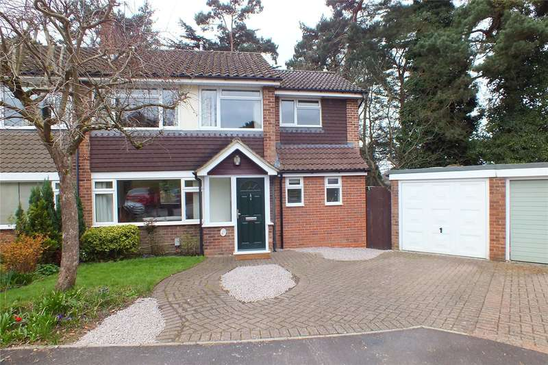 4 Bedrooms Semi Detached House for sale in Green Leys, Church Crookham, Fleet, Hampshire, GU52