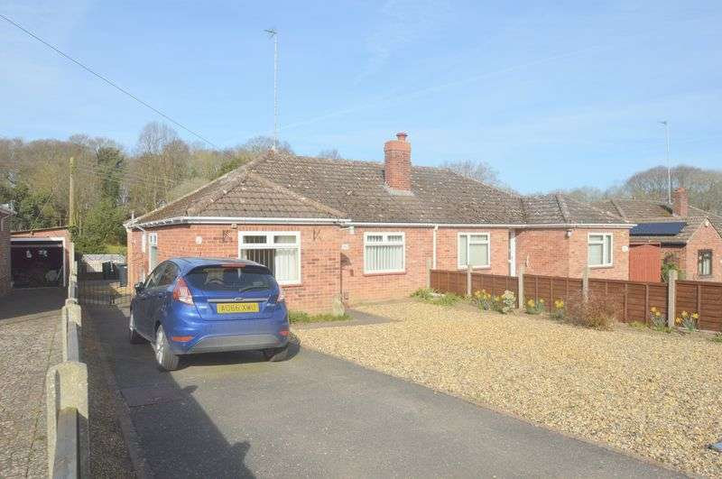 2 Bedrooms Semi Detached Bungalow for sale in Longwater Lane, New Costessey, Norwich