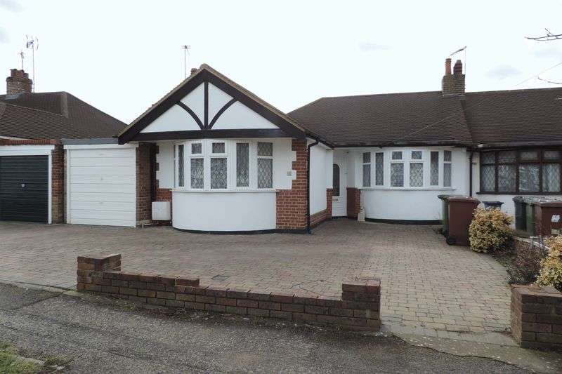 2 Bedrooms Semi Detached Bungalow for sale in The Byway, Potters Bar