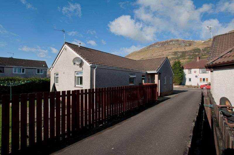 4 Bedrooms Detached Bungalow for sale in Hoggan Way, Alva